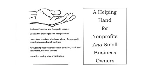 A Helping Hand for Nonprofits and Small Business Owners