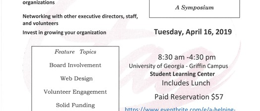 A Helping Hand for Non-Profits-Semi Annual Symposium