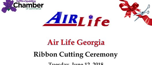 AirLife Georgia Ribbon Cutting