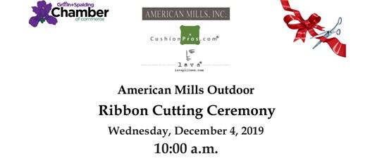 Ribbon Cutting - American Mills Outdoors