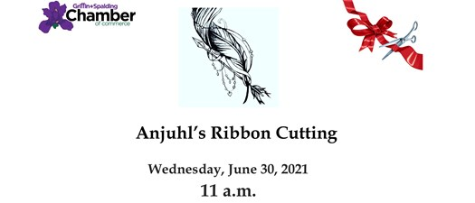 Ribbon Cutting - Anjuhls