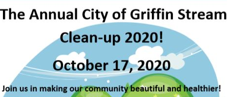 Annual City of Griffin Stream Cleanup 2020