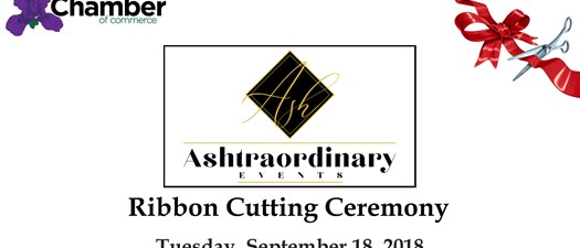 Ashtraordinary Events Ribbon Cutting