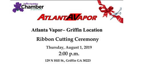 Atlanta Vapor Ribbon Cutting