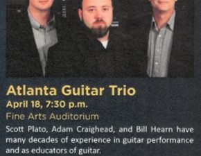 Atlanta Guitar Trio at Gordon State College