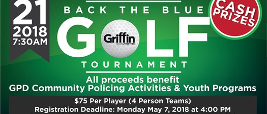 Back the Blue Golf Tournament
