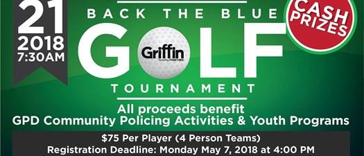 Back the Blue Golf Tournament