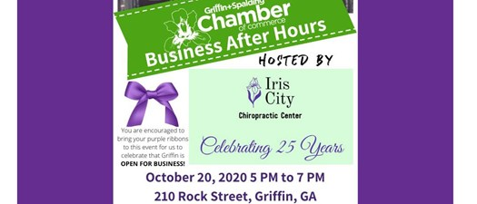 Business After Hours - Iris City Chiropractic Center