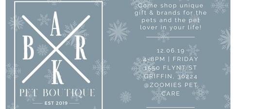 Zoomies' Bark Pet Boutique Open House