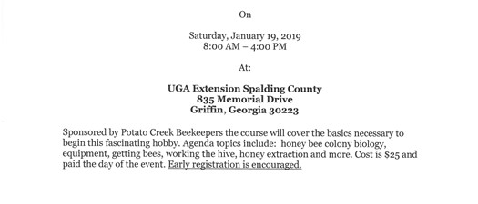 Beekeepers Short Course