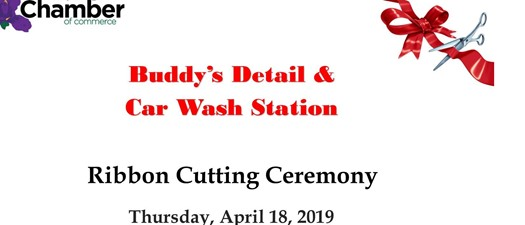 Ribbon Cutting - Buddy's Detail & Car Wash