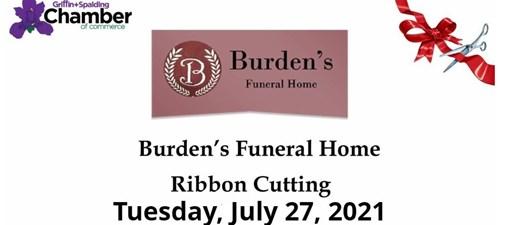 Ribbon Cutting - Burden's Funeral Home