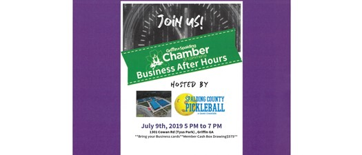 Business After Hours - Spalding County Pickleball Association