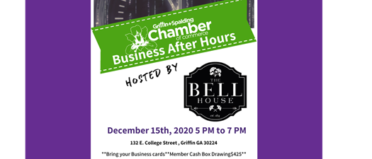 Business After Hours - Bell House
