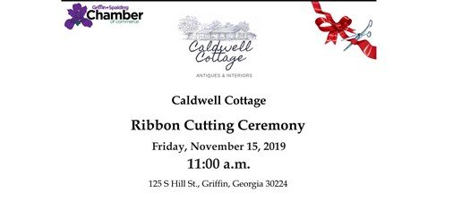 Ribbon Cutting - Caldwell Cottage