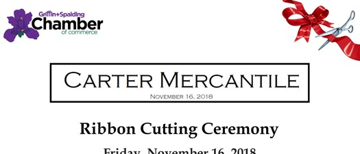 Carter Mercantile Ribbon Cutting