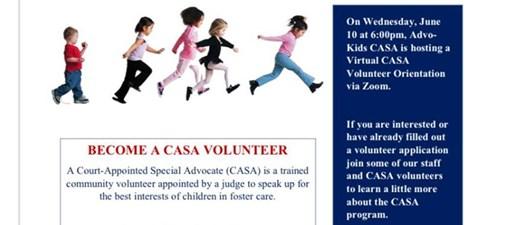 Advo-Kids CASA Volunteer Orientation