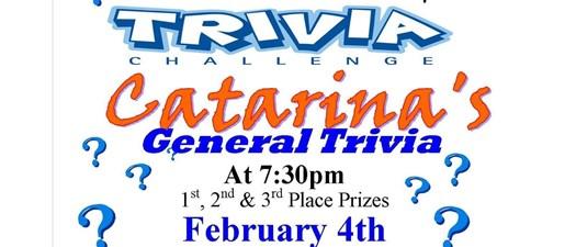 Catarina's General Trivia Challenge