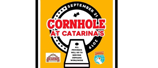 Cornhole at Catarina's