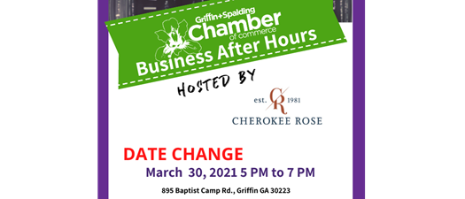 Business After Hours - Cherokee Rose