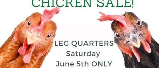 Chicken Leg Quarter Sale