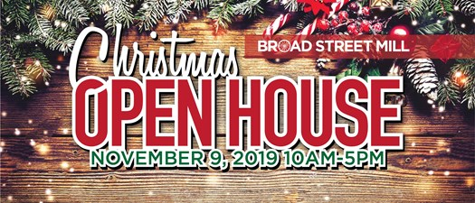 Christmas Open House at Broad Street Mill