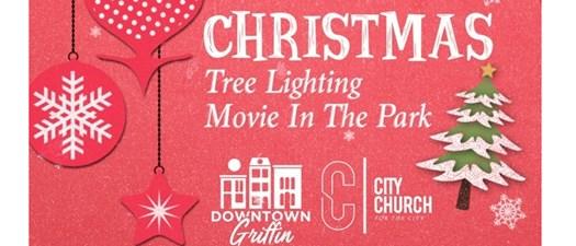 Christmas Tree Lighting & Movie in the Park