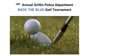 3rd Annual BACK THE BLUE Golf Tournament