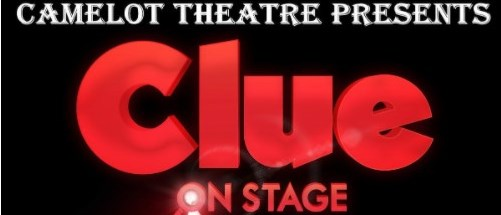 """Camelot Theatre presents """"Clue on Stage"""""""