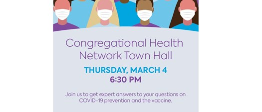 Congregational Health Network Town Hall