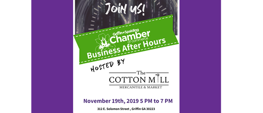 Business After Hours - The Cotton Mill Mercantile