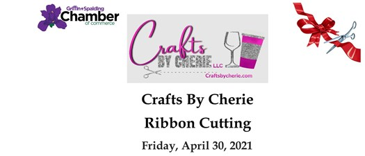Ribbon Cutting - Crafts by Cherie