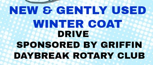 Daybreak Rotary Club Coat Drive