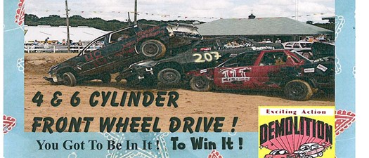 Demolition Derby at the Spalding County Fair