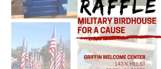 Raffle - Military Birdhouse for a Cause