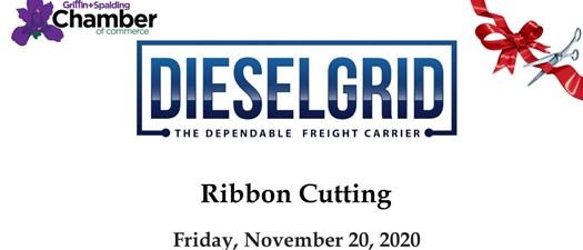 Ribbon Cutting - DieselGrid