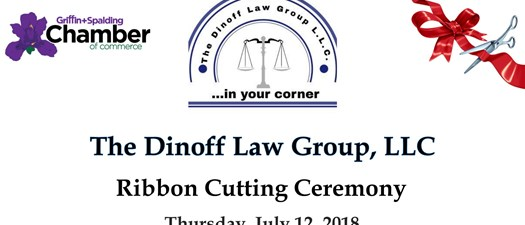 Dinoff Law Group Ribbon Cutting