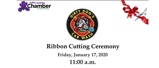 Ribbon Cutting - Dirty Dogs Car Wash