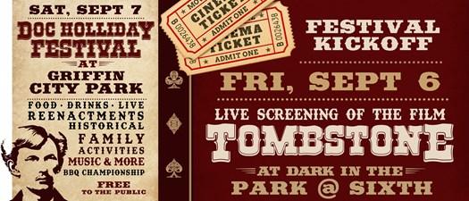 Doc Holliday Festival Kickoff