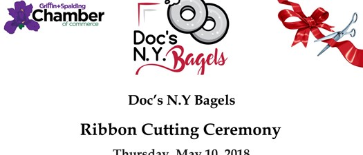 Doc's NY Bagel - Ribbon Cutting