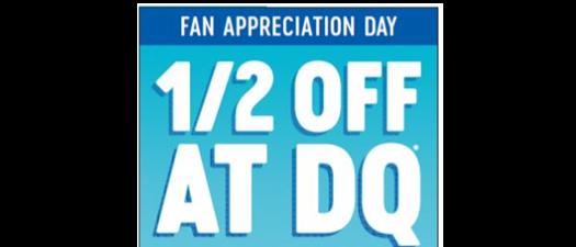 Dairy Queen Fan Appreciation Day