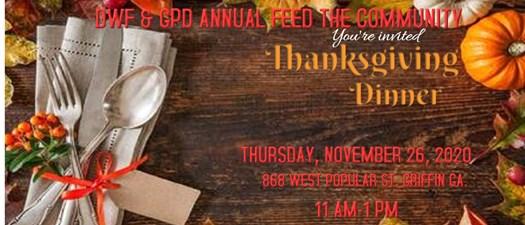 DWF & GPD Annual Feed the Community 2020