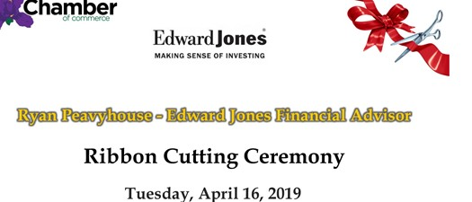 Ribbon Cutting - Ryan Peavyhouse-Edward Jones