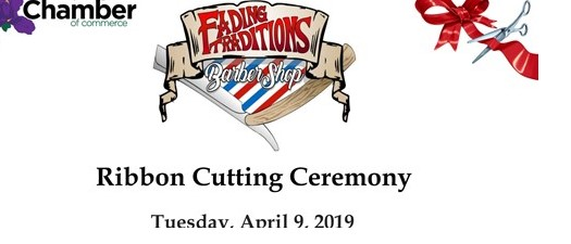 Ribbon Cutting - Fading Traditions Barber Shop