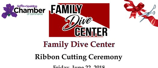 Family Dive Center Ribbon Cutting