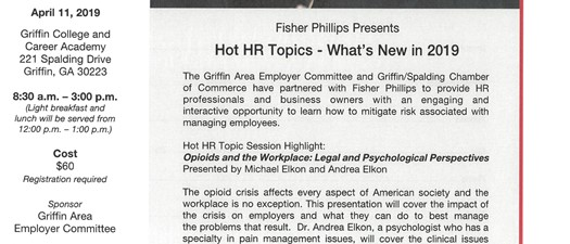 Fisher Phillips - Hot HR Topics
