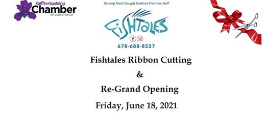 Ribbon Cutting & Grand Re-Opening - Fishtales