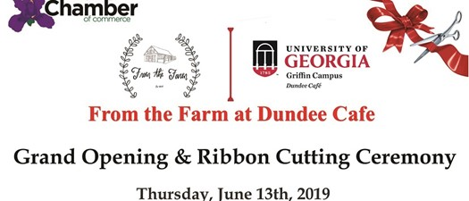 Ribbon Cutting - From the Farm at the Dundee Cafe