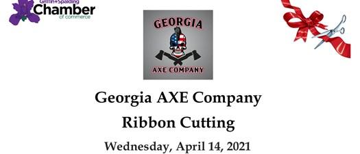Ribbon Cutting - Georgia Axe Company
