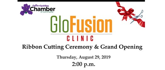 Ribbon Cutting - GloFusion Clinic